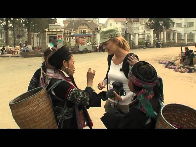 Meeting the Hmong tribe in SAPA, Vietnam.