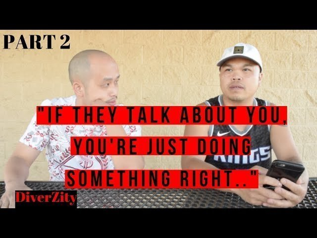 (PT.2) DiverZity Dirty Music Business, working with Hmong rap artists, China Mac