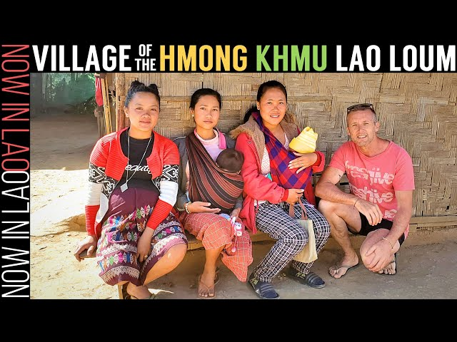 Travelling Laos | Hill Tribes Hmong, Khmu and Lao Loum live together in High Mountain Village Laos