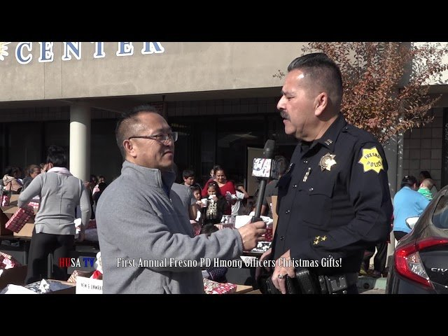 First Annual Fresno PD Hmong Officers Christmas Gifts