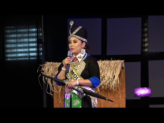 Fresno Hmong New Year 2019-2020: Miss Hmong USA pageant - Molly Talent