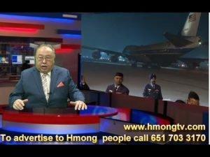 HMONG TV:  PRESIDENT  TRUMP  hais  lus Hmoob - TRUMP MUS INDIA TEBCHAW