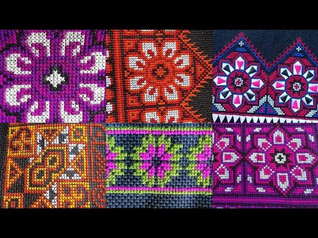 Hmong embroidery/ paj ntaub hmoob zoo nkauj / qauv paj ntaub khaub ncaws hmoob