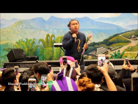 "Hands Band Nrees sang ""Lub Chaw Pw"" at Hmong Minnesota New Year 2017-2018"