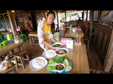 Hmong Food in Thailand!! Day Trip to Mon Jam (ม่อนแจ่ม) Mountain Village!   Chiang Mai