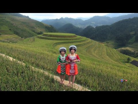 BEAUTIFUL PLACE LOVELY GIRLS SMILES@HMONG VILLAGES IN THE NORHT VIETNAM 2020