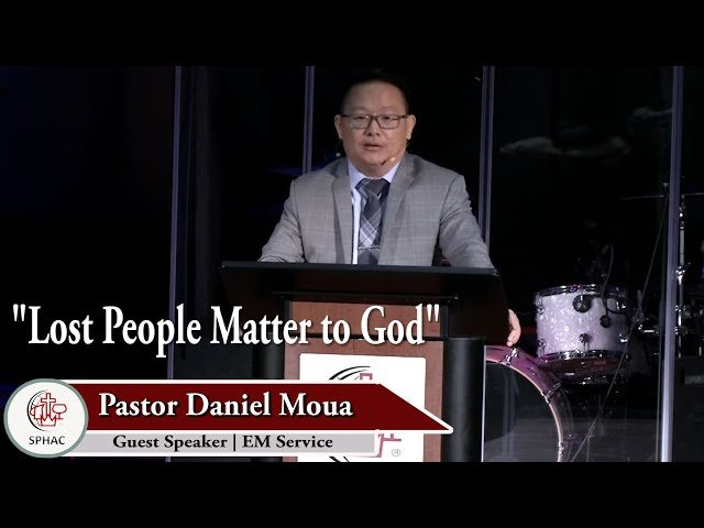 """102020    English Ministry Service """"Lost People Matter to God""""    Pastor Daniel Moua"""