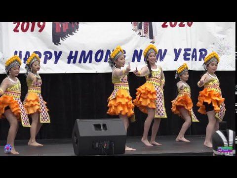 Niam Leej Ntxhais Dance competition @Hmong Wausau New Year 2019