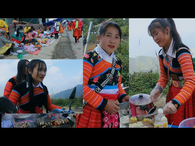 HMONG VILLAGES MARKET IN NORTH VIETNAM #216, 12 /2020