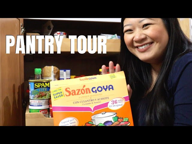 Hmong Pantry Tour & Must Haves | Important Ingredients to Quickly Feed Unexpected Houseguests!