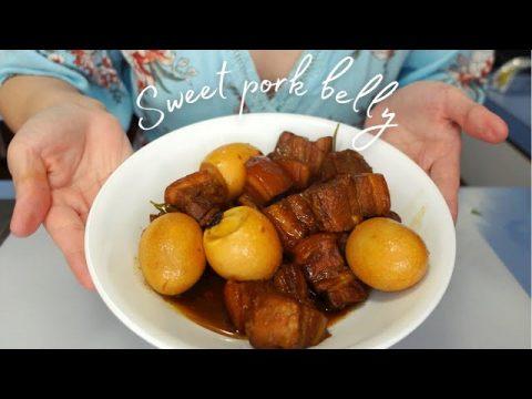 hmong sweet pork belly ~ ua nqaij qab zib   Sony ZV1 4K 30fps